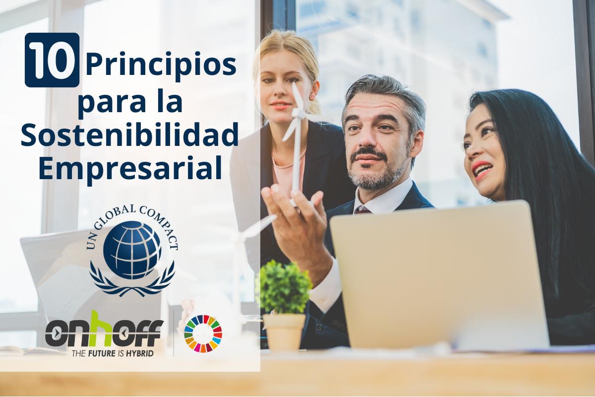 10 principios para la sostenibilidad empresarial